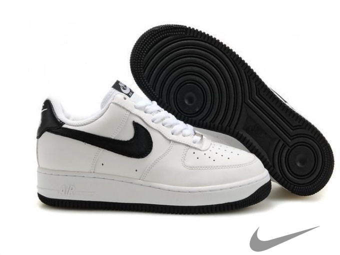 air force one basse bianche e nere